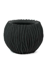 Large sculptured shape GRP planter
